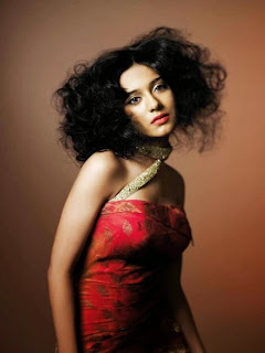 amrita-rao-salon-international-magazine-red-dress