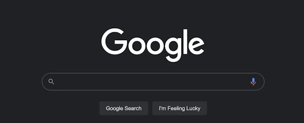 A Pesquisa Google no desktop vai ter Darkmode