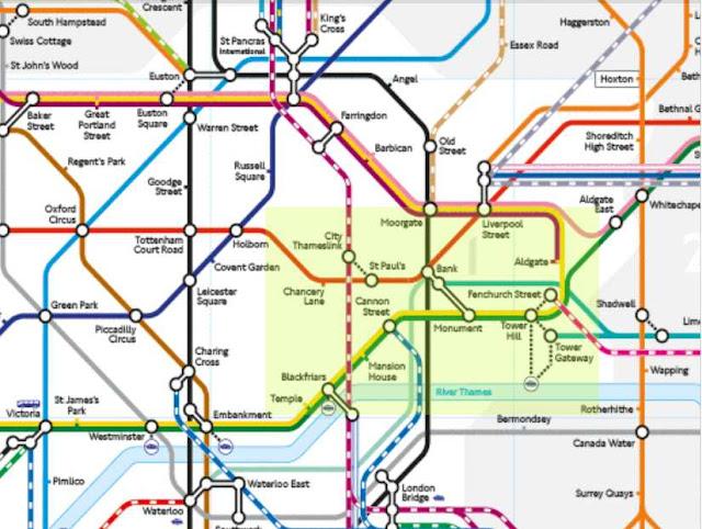 zona metro London City