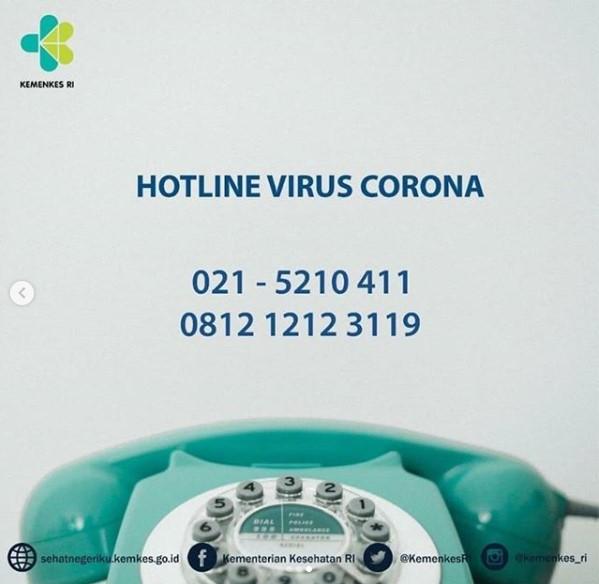 hotline virus corona indonesia