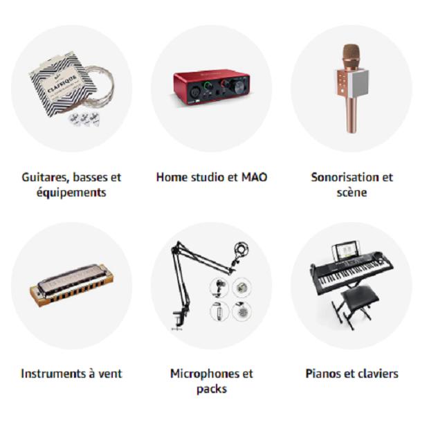INSTRUMENTS DE MUSIQUE & SONO : Amazon.fr - Achat en ligne dans un vaste choix sur la boutique Instruments de musique et Sono.
