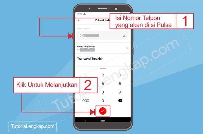 tutorialengkap 2 Cara Beli Pulsa Online dengan Harga Murah Melalui Aplikasi Linkaja di HP Android