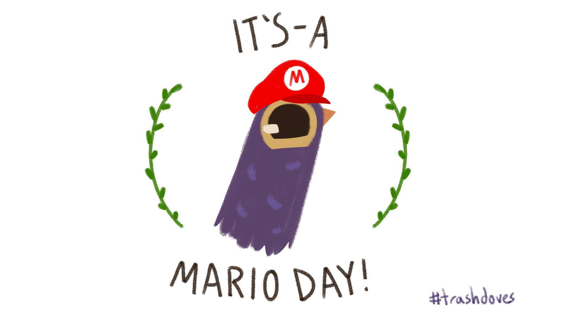 Mario Day Wishes pics free download