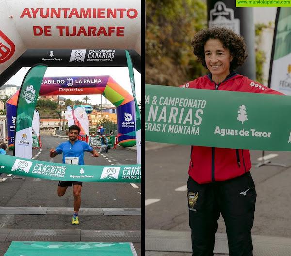 Juan José Rodríguez y Amada de Jesús Sánchez se proclaman campeones de Canarias en la V Vertical Proís de Candelaria