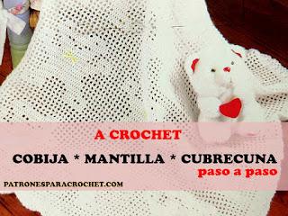 como-tejer-cobija-crochet-para-bebe