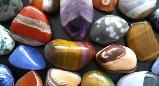 Stones for good luck