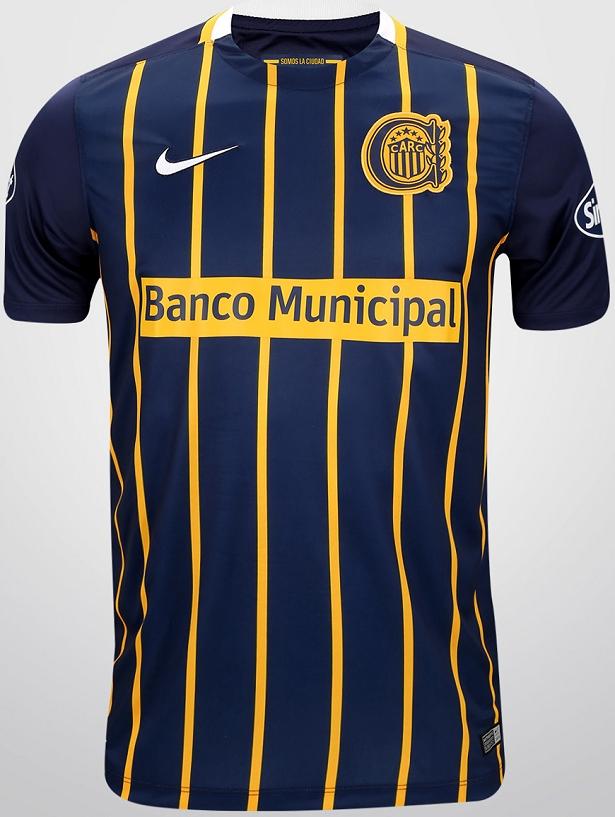 Nike lança a nova camisa titular do Rosario Central - Show de Camisas ca48b7890e4c4