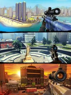 Sniper 3D Assassin: free (MOD Unlimited Coins)