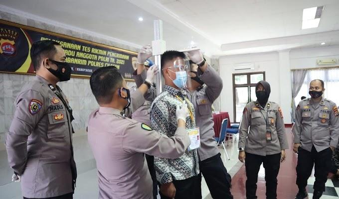 Tes Rikmin Penerimaan Polri TA.2021 Polres Cilegon Dilaksanakan secara Bersih, Transparan dan Akuntabel