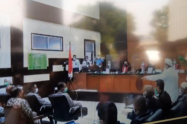 HRS Bingung Jaksa Hadirkan Pemilik Tenda di Persidangan: Saya Kira Mau Nagih Hutang