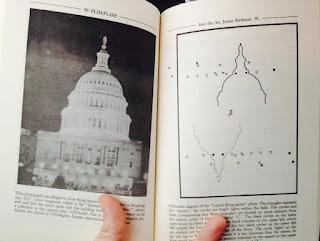 Blue Blurry Lines: Photo Fakery: Washington, DC Flying Saucers 1952