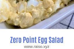 Zero Point Egg Salad