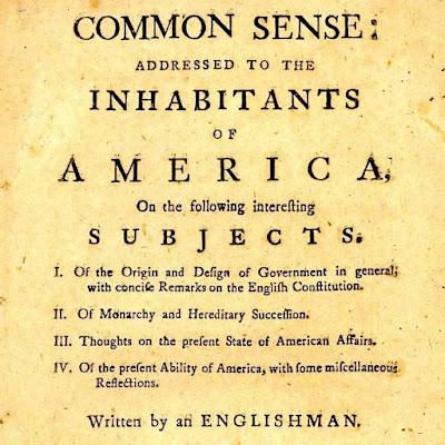 Common sense by Thomas Pain