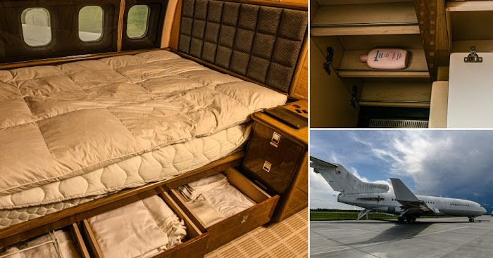 See inside Jeffrey Epstein's rusting private jet he used in sex trafficking his victims around the world (photos)