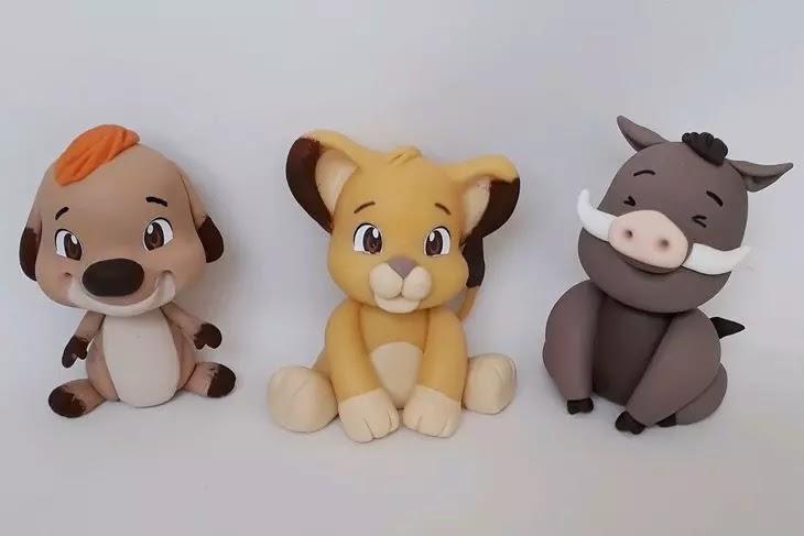 Animais de Biscuit
