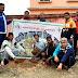 जमुई : साईकिल यात्रियों ने निजी जमीन पर पौधरोपण कर 258वीं यात्रा पूरी