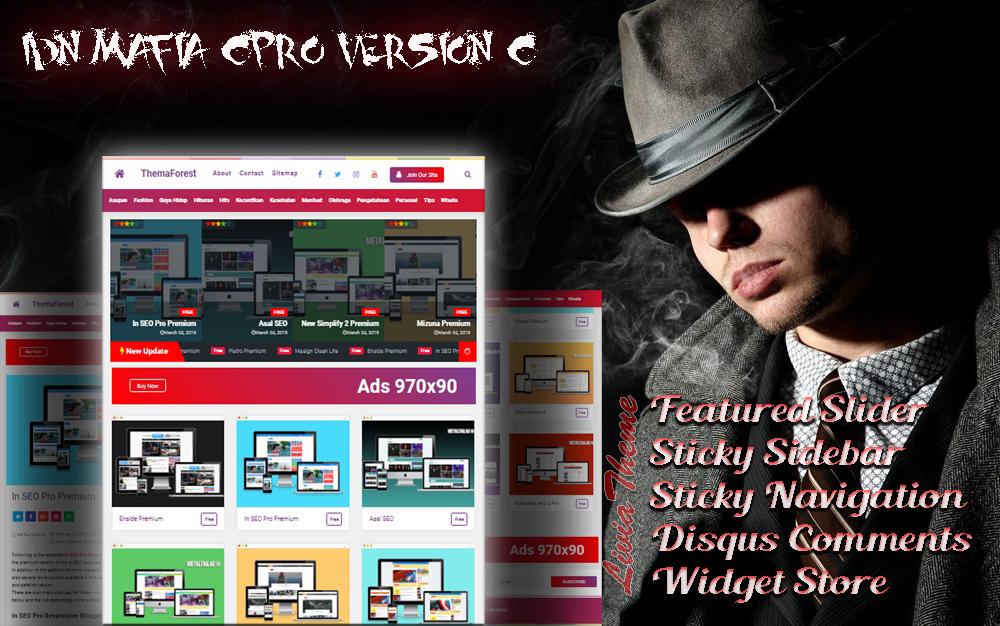 IDN Mafia CPro Blogger Template - Responsive Blog & Magazine Blogger Template