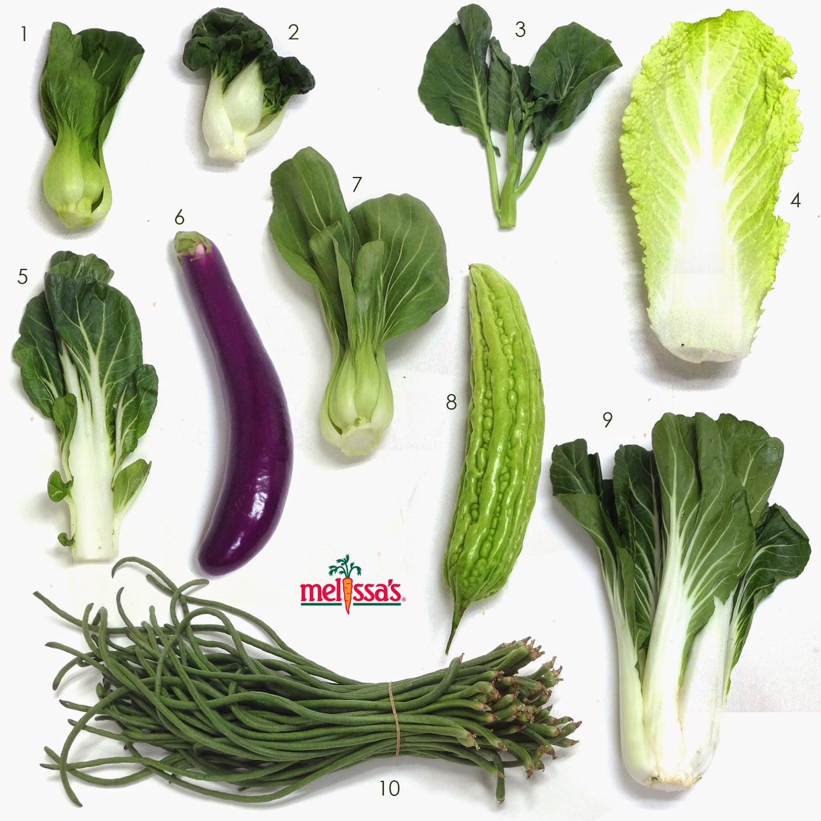 Asian Vegetable Names 21