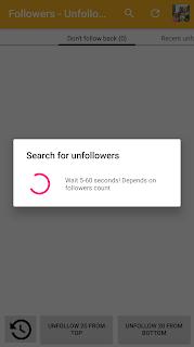Review aplikasi followers unfollowers