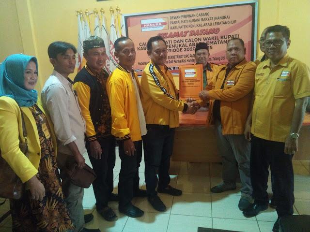 Wakil Ketua DPRD PALI Ambil Formulir di Hanura