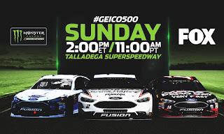GEICO 500 #NASCAR