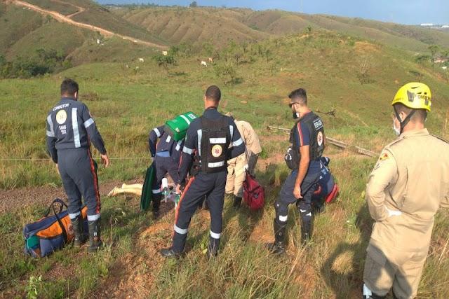 Duas mulheres morreram eletrocutada em Águas Linda de Goiás após queda de poste