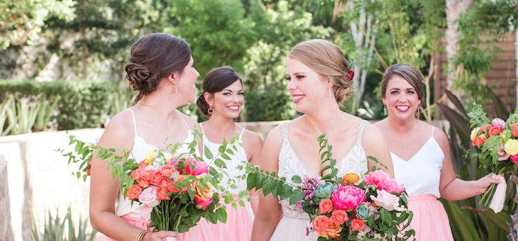 Colorful Destination Wedding in Cabo