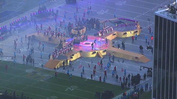 Este será el escenario de Coldplay para el halftime show del Super Bowl 50