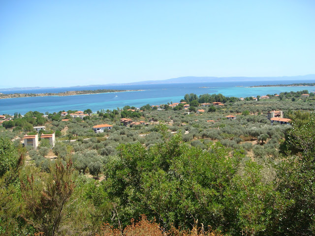 Magnificent view of Vourvourou and the Diaporos island