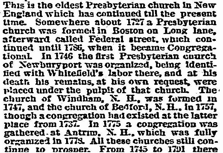 Theraconteuseexpose december 2014 from history of essex county massachusetts with biographical sketches of many of its pioneers and prominent men volume 2 in 1801 the first presbyterian stopboris Image collections