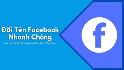 Đổi tên facebook, hướng dẫn đổi tên fb đã hết lượt đổi