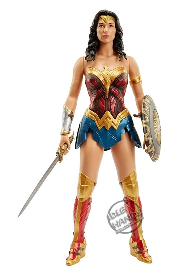 Idle Hands Toy Fair 2017 Jakks Movie Wonder Woman In An -1830