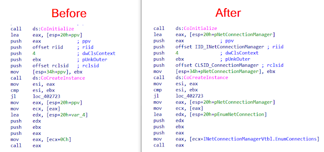 COM-Code-Helper - Two IDAPython Scripts Help You To Reconstruct Microsoft COM (Component Object Model) Code