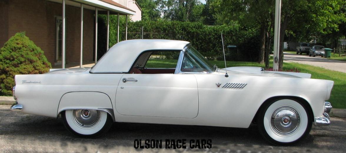 1955 Ford Thunderbird White
