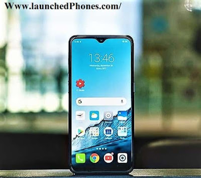 This mobile outcry launched inwards Bharat inwards an upshot Oppo Realme iii launched alongside 4230 mAh battery
