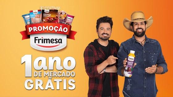 Promoção Frimesa 1 Ano de Mercado Grátis