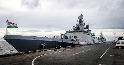 Indian Naval Ships Visit to Sihanoukville, Cambodia