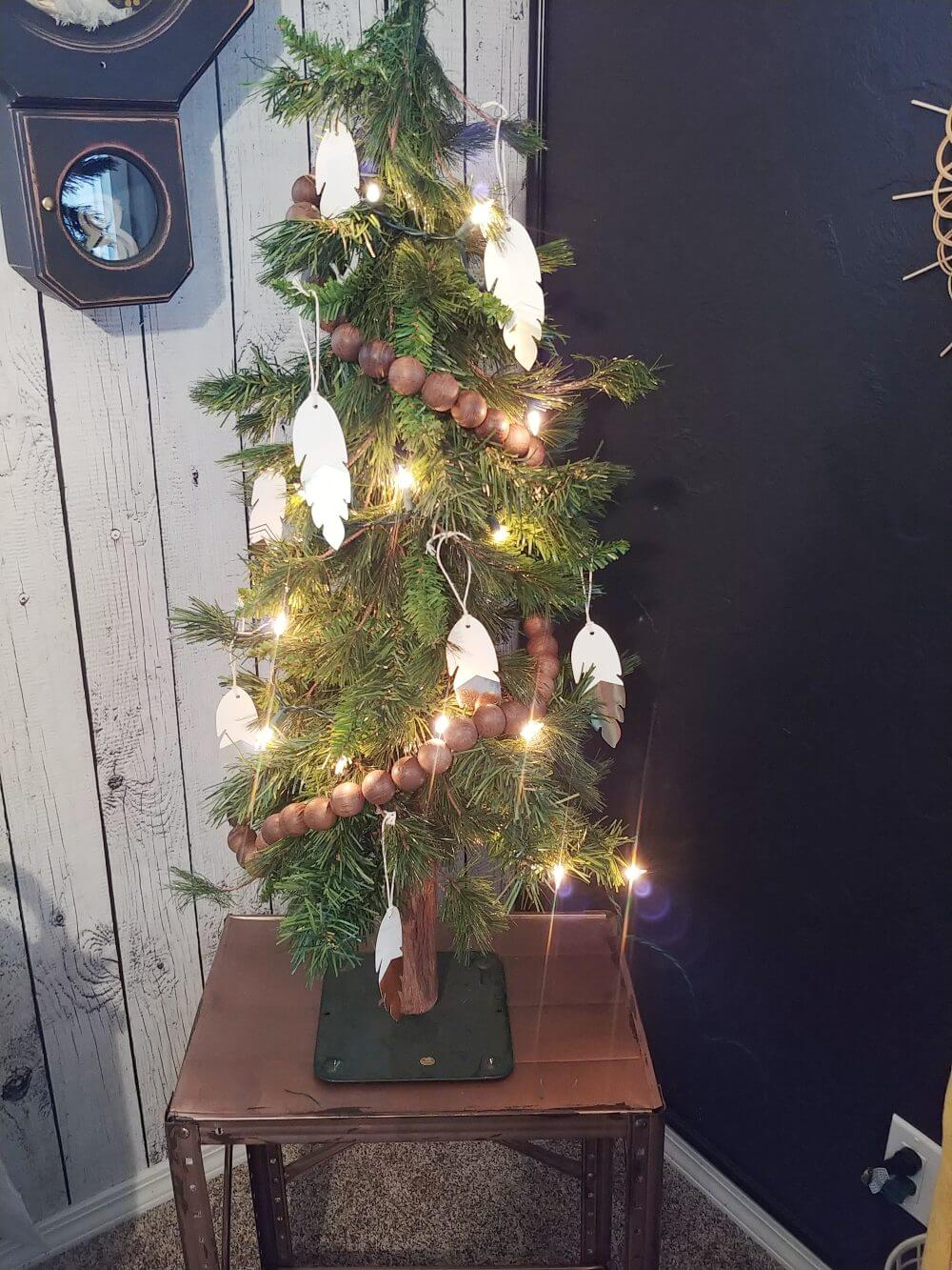 Small Christmas Tree for the Bedroom