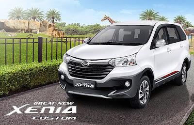 Spesifikasi Dan Harga Daihatsu Xenia