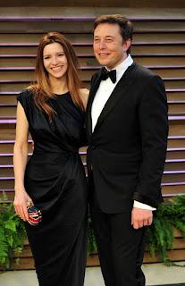 Elon musk's wife Talulah Riley
