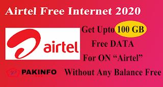 Airtel Free Data offers