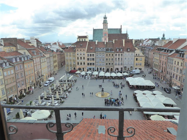 veduta della Rynek Starego Miasta