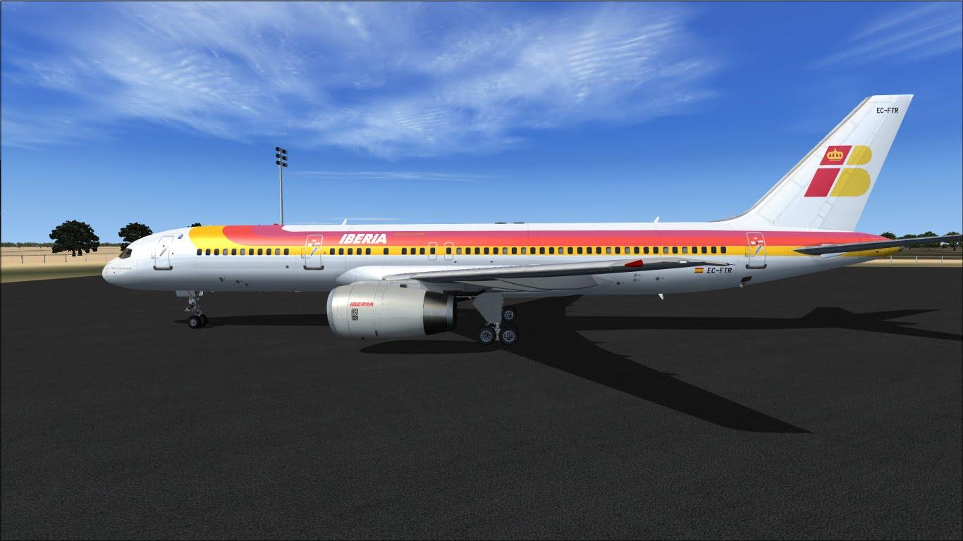 FlyRepaints : TDS-Boeing 757-200 Iberia EC-FTR