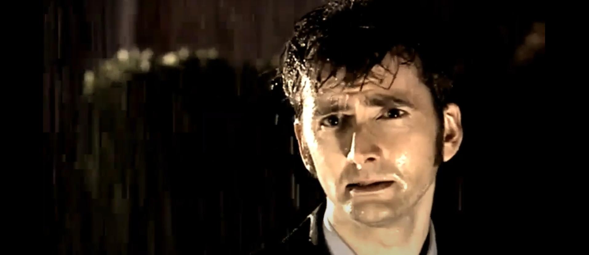 Скриншот из сериала Доктор Кто Десятый Доктор Девид Теннант