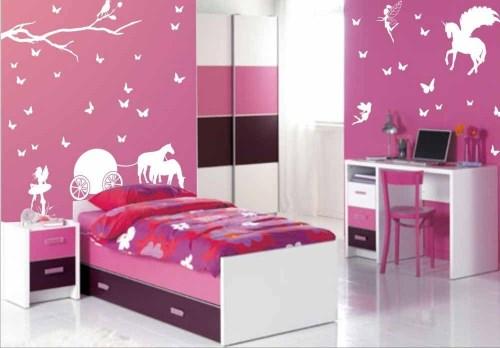 Warna cat kamar tidur minimalis anak perempuan