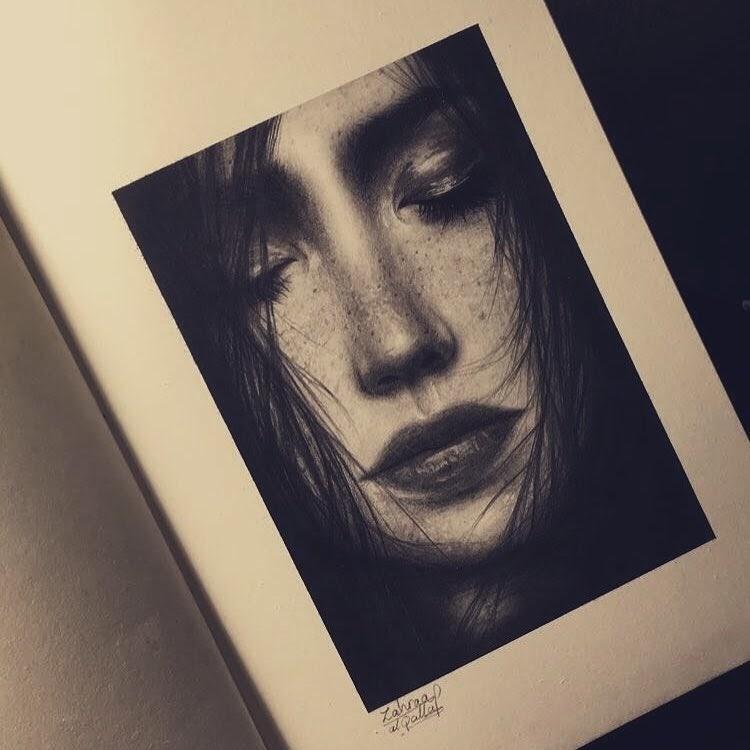 08-Zahraa-AlQallaf-Find-Escapism-in-Drawing-Portraits-www-designstack-co