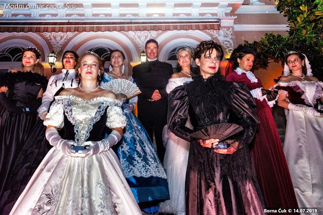 Modni ormar carice Sisi @ Empress Sisi's fashion closet otvorenje izložbe u Opatiji