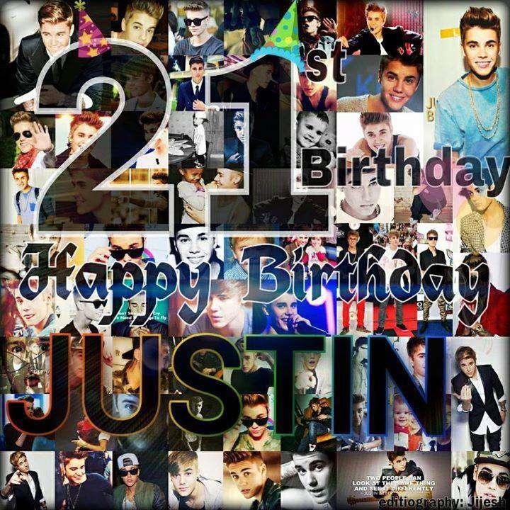 Justin Bieber's Birthday Wishes Photos