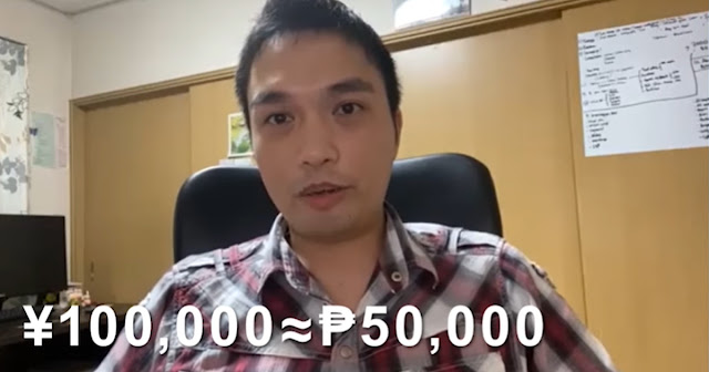 WATCH: Mga pinoy OFW sa japan nakatanggap ng  ¥100,000 o ₱50,000 bilang ayuda.