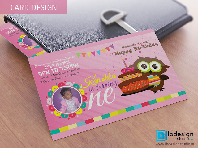 BIRTHDAY INVITATION DESIGN Chennai Trichy India
